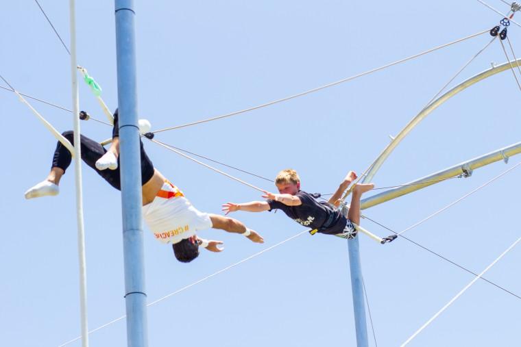 Punta Cana trapeze